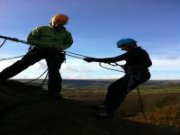 Alfresco Adventures can also take you Abseiling.