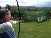 Archery in the Yorkshire Dales