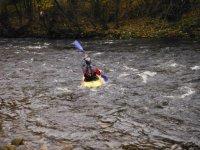 Kayaking in Bedale.
