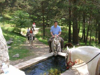 Horse riding and archery in Cercedilla
