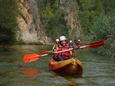1h Canoeing route in Pantano de la Fuentesanta