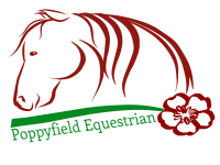 Poppyfield Equestrian Logo