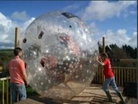 The launch or the Zorb