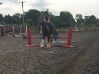Jumping at Oakhanger Riding & Pony Club Centre