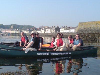 Mobile Team Adventure Canoeing