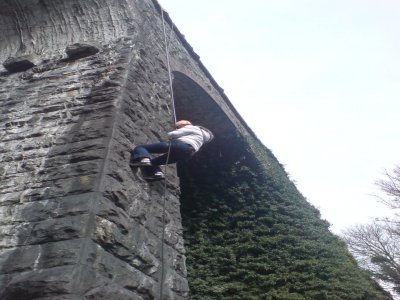 Mobile Team Adventure Abseiling