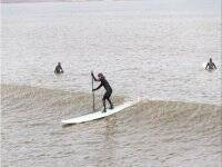 Stand up paddle boarding in the Coast
