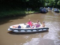 Four seater day boat