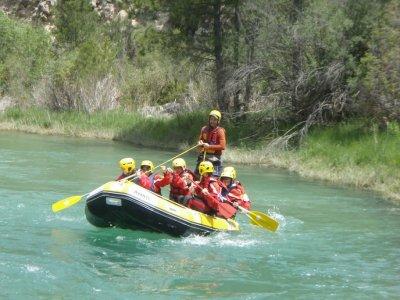 Rafting Down River Guadiela + 2-Night Stay