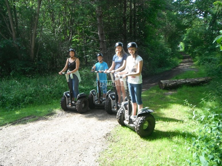 Segway Trek at Camp Hill