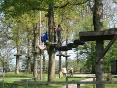 2 Hour High Ropes Course Experience Kirklington