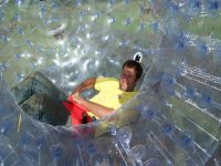 Zorb by yourself.