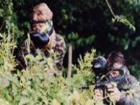 Have a go of playing paintball as well.
