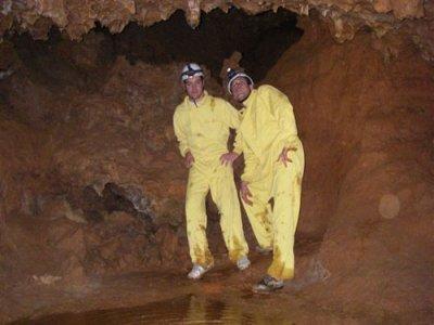 Half a journey caving in Buendía