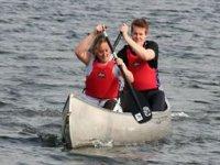 Canoeing Teamwork