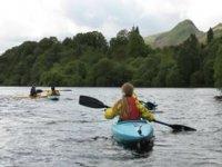 Kayaking beautiful surroundings