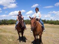 Hacking with Cavendish Bridge Equestrian Centre