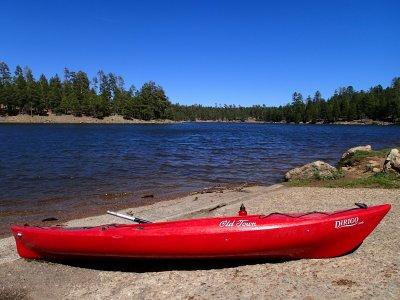 Two-seater kayak in Panjón, 30 min