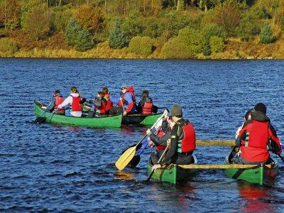 Calvert Trust Kielder Canoeing
