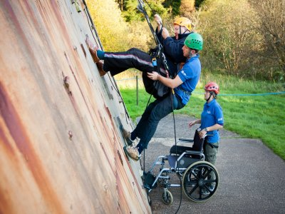 Calvert Trust Kielder Climbing