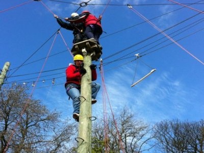 Half Day High Ropes Session Gargrave