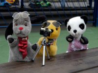 Sooty and friends.