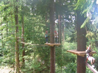Ty Nant Outdoors High Ropes
