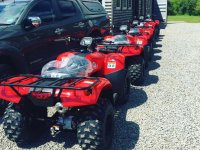 Quads ready for the road