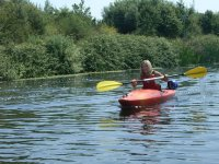 Kayaking is a great paddle sport