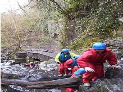 Hampshire Mountain Centre Canyoning