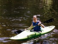 Kayaking is a challenging paddle sport