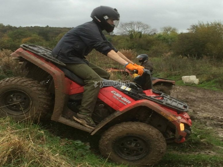 Quad driving in Thirsk