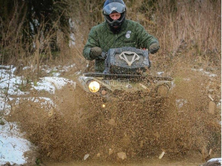 Muddy adventure