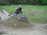 Quad biking in the rain!