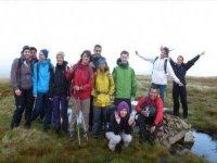 Group of adventurers.