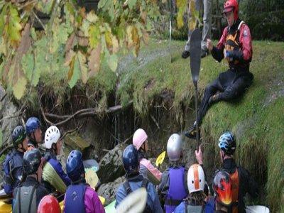 EBO Adventure Training Canoeing