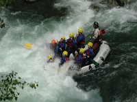 Rafting is lots of fun.