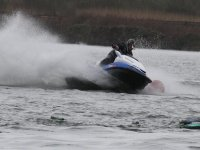 Jet skiing is a great activity.