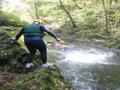 Capital Adventure Wales Canyoning