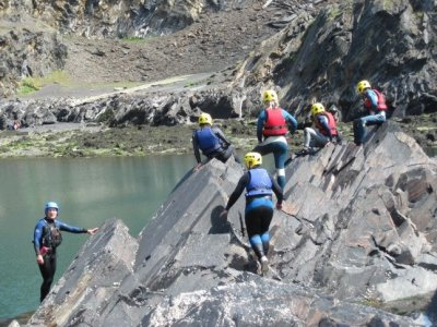 Capital Adventure Wales Coasteering