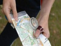 Find you way with a map and compass