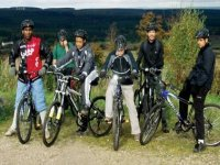 Group biking expeditions