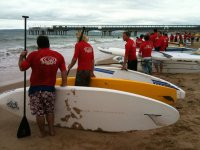A stand up paddleboard event