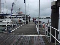 Pier full of boats