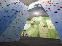 Each wall offers a variety of challenging routes