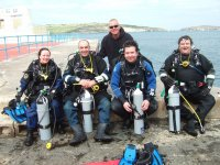 Our group of divers