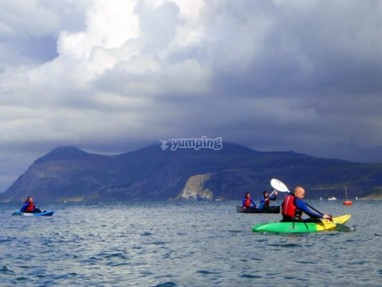 Scenic kayaking