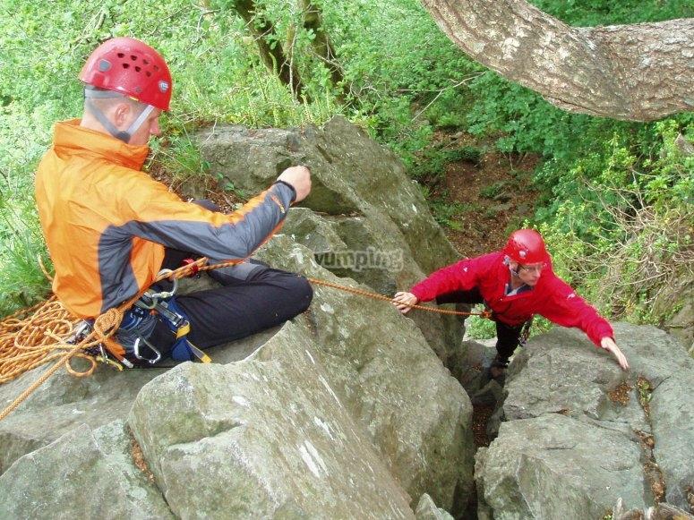 Rock Climbing instruction courses