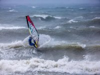 Windsurfing can really get the adrenalin pumping