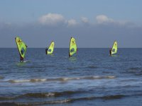 Windsurfing is a great activity to do with friends